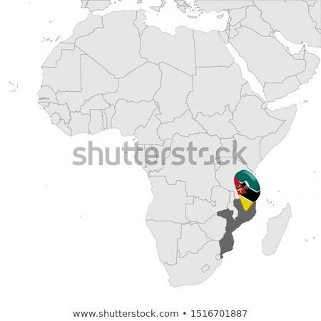 Alto dettagliato vettore mappa Niger navigazione Foto d'archivio © tkacchuk