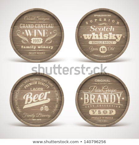 Winemaking emblems Stock photo © -Baks-