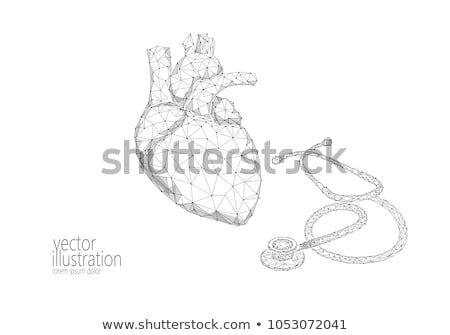 diagnosis   infarction medical concept 3d render stock photo © tashatuvango