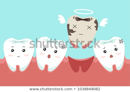 Tooth Loss Concept Stock photo © Lightsource