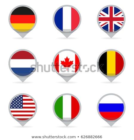 France Pays-Bas drapeaux vecteur image puzzle Photo stock © Istanbul2009