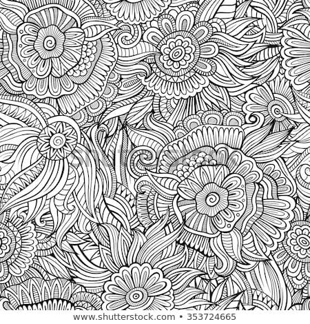 résumé · vecteur · décoratif · horizons · image - photo stock © balabolka