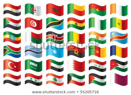 Турция Ангола флагами головоломки изолированный белый Сток-фото © Istanbul2009