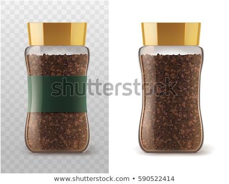 кофе · аромат · Spice · продовольствие · фон · пластина - Сток-фото © paha_l