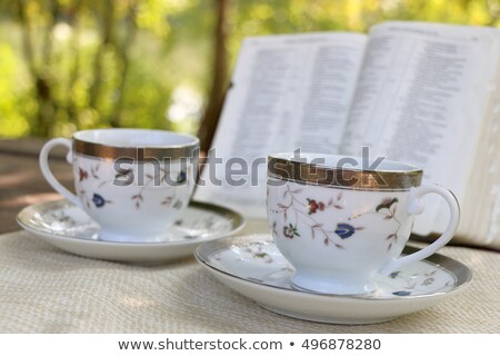 Cup of books with dollars 2 Stock photo © Paha_L