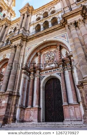 подробность собора малага Церкви город Европа Сток-фото © CaptureLight