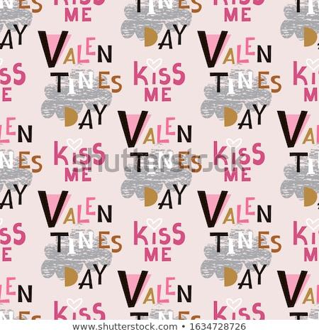 Valentine card set. EPS 10 Stock photo © beholdereye