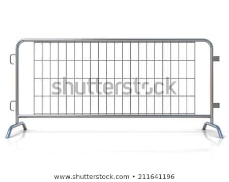 鋼 孤立した 白 フロント 表示 ストックフォト © djmilic