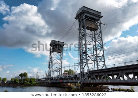 old bridge steel structure 2 Stock photo © tracer