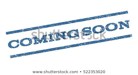 синий в ближайшее время текста чернила всплеск текстуры Сток-фото © SArts
