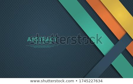 抽象的な オレンジ 点在 企業 素材 ベクトル ストックフォト © saicle