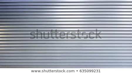 Photo stock: Fermé · garage · métal · porte · modernes · rue