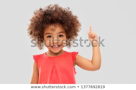 young african american girl smiling stock photo © neonshot