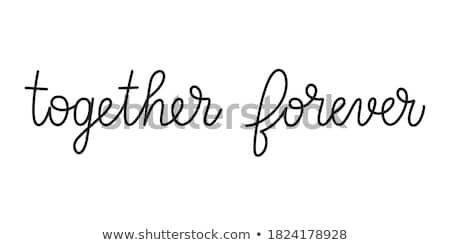 együtt · kettő · fák · egyéb · gyökerek · növekvő - stock fotó © psychoshadow
