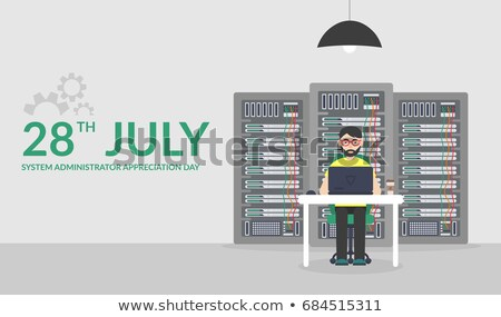 28 july system administrator day stock photo © olena