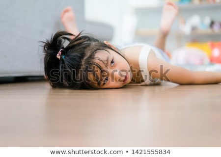 Battery Low on Wooden Floor Stock photo © make