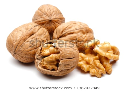 group of whole walnuts Stock photo © Digifoodstock