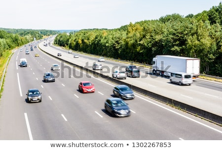 Traffic flowing on a motorway Stock photo © IS2