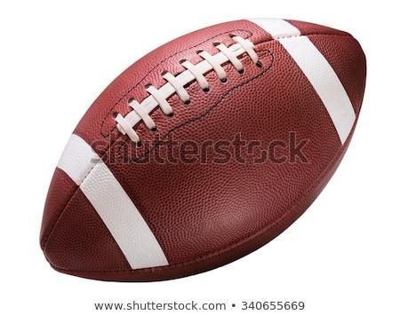 american football ball stock photo © studiostoks