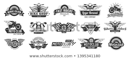 Shield motorcycle or chopper Stock photo © Ustofre9