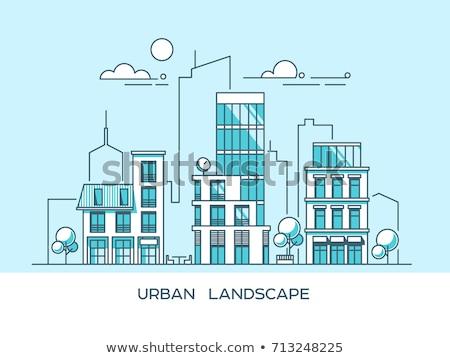 市 · 生活 · 現代 · デザイン · スタイル · 夏 - ストックフォト © decorwithme