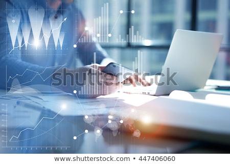 маркетинга аналитика стратегия бизнеса данные анализ Сток-фото © cifotart