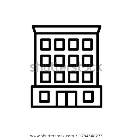 Negócio escritório prédio comercial vetor isométrica ilustração Foto stock © tashatuvango