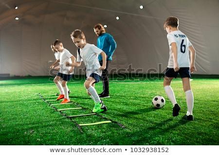 voetbal · opleiding · praktijk · jeugd · voetbal · spelers - stockfoto © matimix