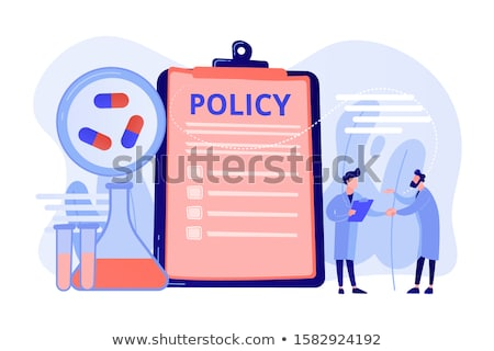 Pharmaceutical policy concept vector illustration. Stock photo © RAStudio