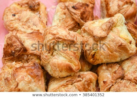 puff pastry collage Stock photo © FOKA