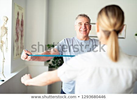 A Modern rehabilitation physiotherapy in the room Stock photo © Lopolo