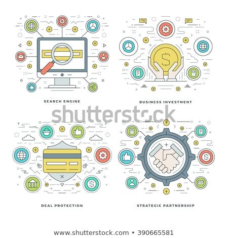 search engines optimization concept banner header stock photo © rastudio