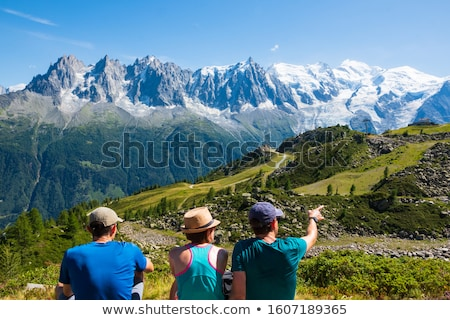 summer vacations and lifestyle hiking concept stock photo © ijeab