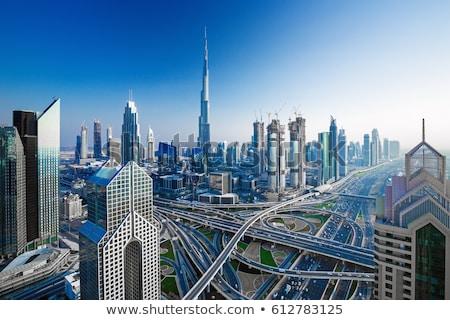 Lusso centro Dubai fondo view moderno Foto d'archivio © Anna_Om