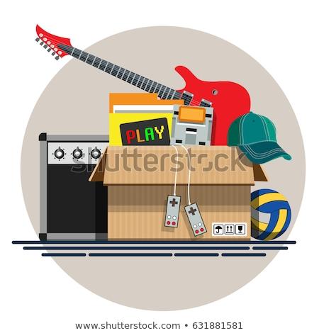 Garaż sprzedaży gry pocieszyć drugi Zdjęcia stock © robuart