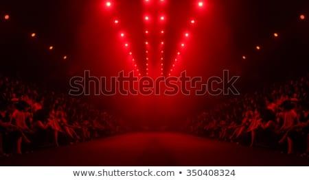 Podyum sahne spot odak dizayn oda Stok fotoğraf © SArts