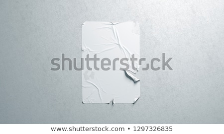 torn poster stock photo © vectomart