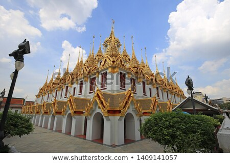 loha prasat in bangkok stock photo © rognar