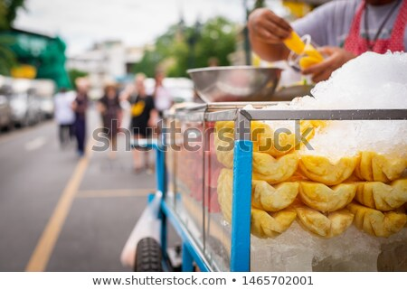 Street food fruits Stock photo © pekour