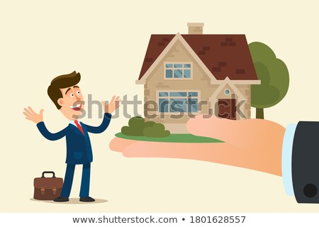 a  real estate company boss is surprised Stock photo © photography33