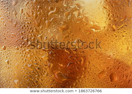 closeup misted blurred glass of whiskey stock photo © pekour