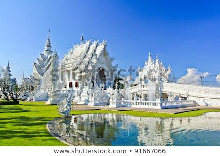 仏教 · 白 · 寺 · ダイナミック · 表示 · 建物 - ストックフォト © timbrk