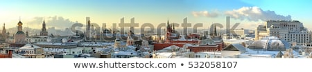 Overview of downtown Moscow Stock photo © AndreyKr