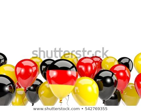 шаре · флаг · дети · цвета · маркетинга · белый - Сток-фото © experimental