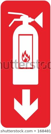 огня · защиту · индикатор · старые · ворот · фон - Сток-фото © eltoro69