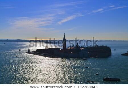 Beautiful water street - evening view Gulf of Venice, Italy Stock photo © Zhukow
