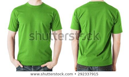 green t shirt isolated stock photo © abbphoto