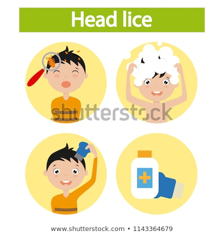Hair Lice Louse Stock photo © Lightsource