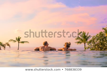 Couples retreat relaxing spa Stock photo © phakimata