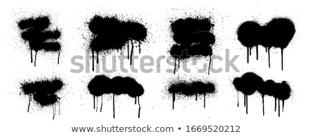 graffiti · közelkép · absztrakt · háttér · művészet · zöld - stock fotó © lunamarina